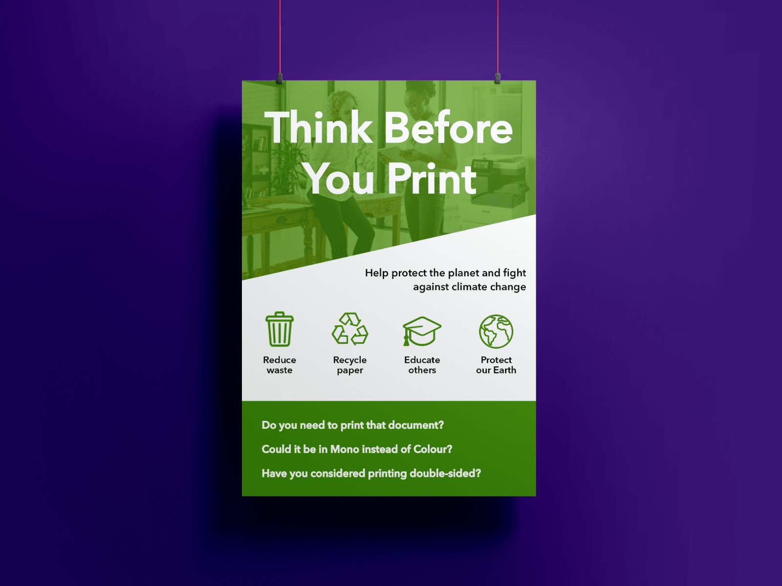 Image in 1 slide of Think Before You Print (1)